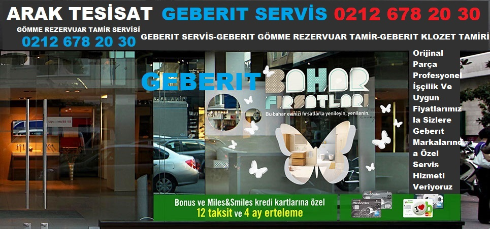GEBERIT SERVİS ESENYURT 0212 678 20 30