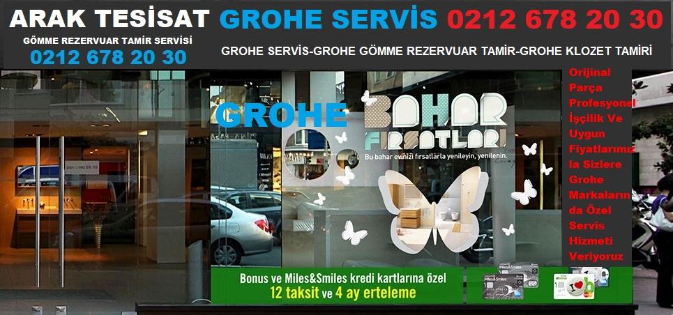 GROHE SERVİS SARIYER 0212 678 20 30